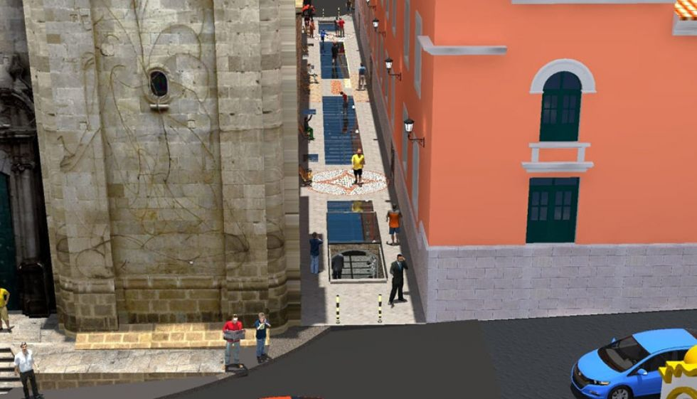 Inauguran obras de un museo subterráneo en Potosí