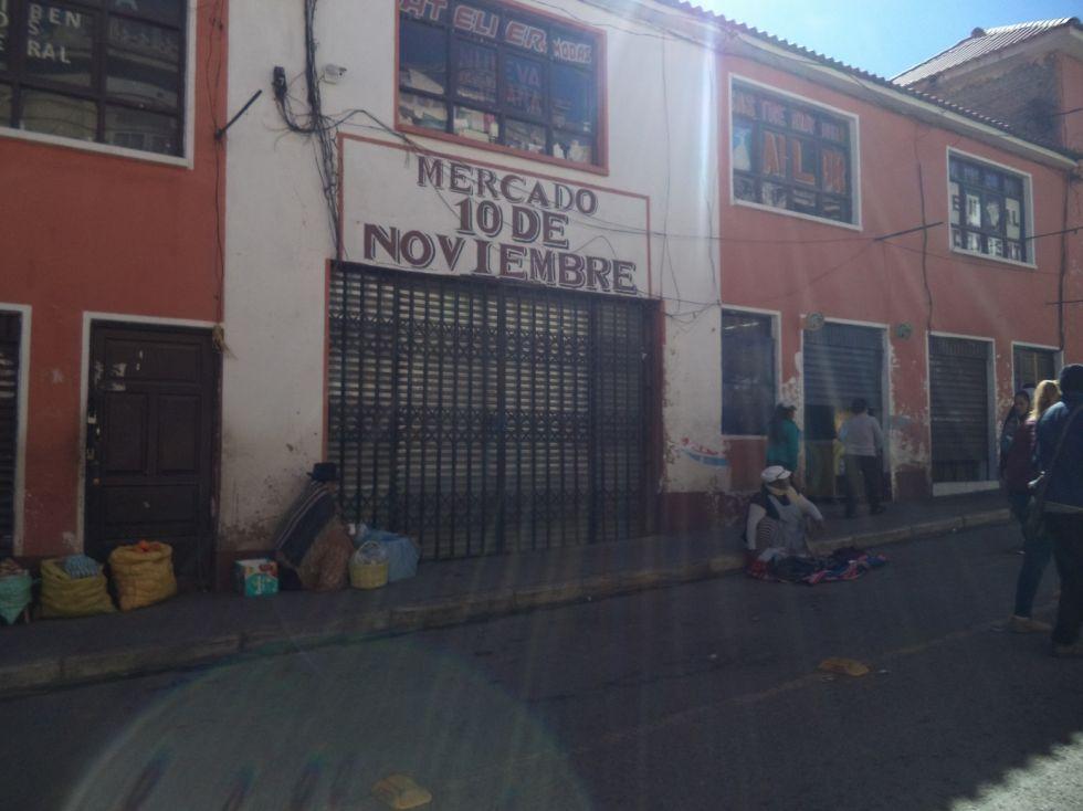 El Mercado 10 de Noviembre está cerrado.