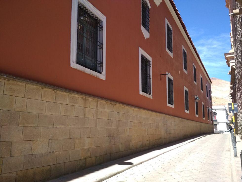 Así luce ahora la primera cuadra de la calle Junín.