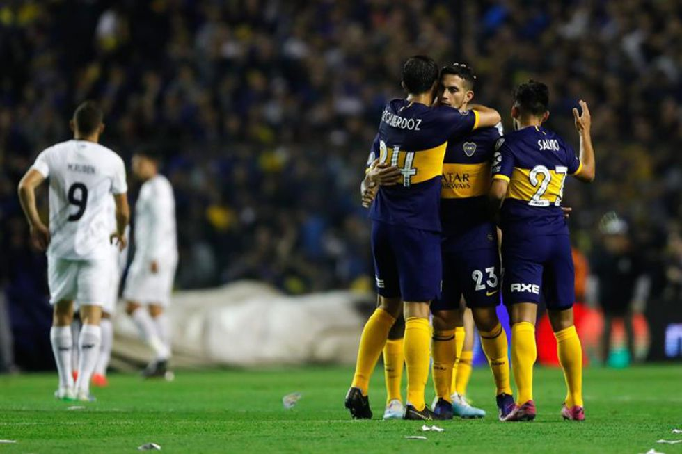 Boca Juniors superó al Athletico Paranaense