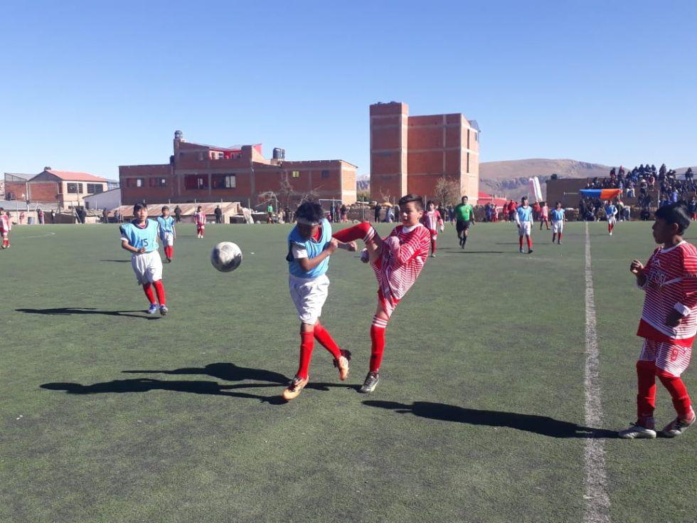 Villazón y Potosí jugaron hoy por la mañana.