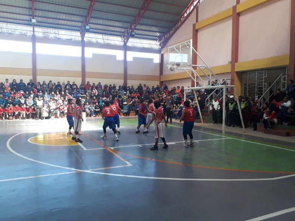 Jugaron en Las Delicias.