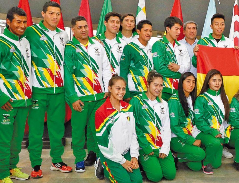 Inicia la ilusión boliviana de obtener medallas en raquetbol