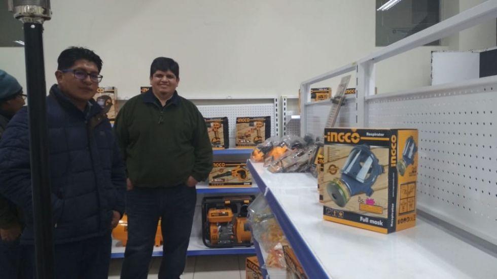 Ingco es una nueva línea de maquinarias y herramientas eléctricas.