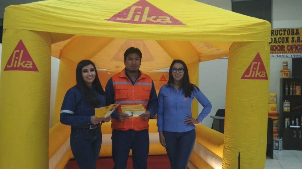 Sika Bolivia, distribuidor autorizado Fadacon.