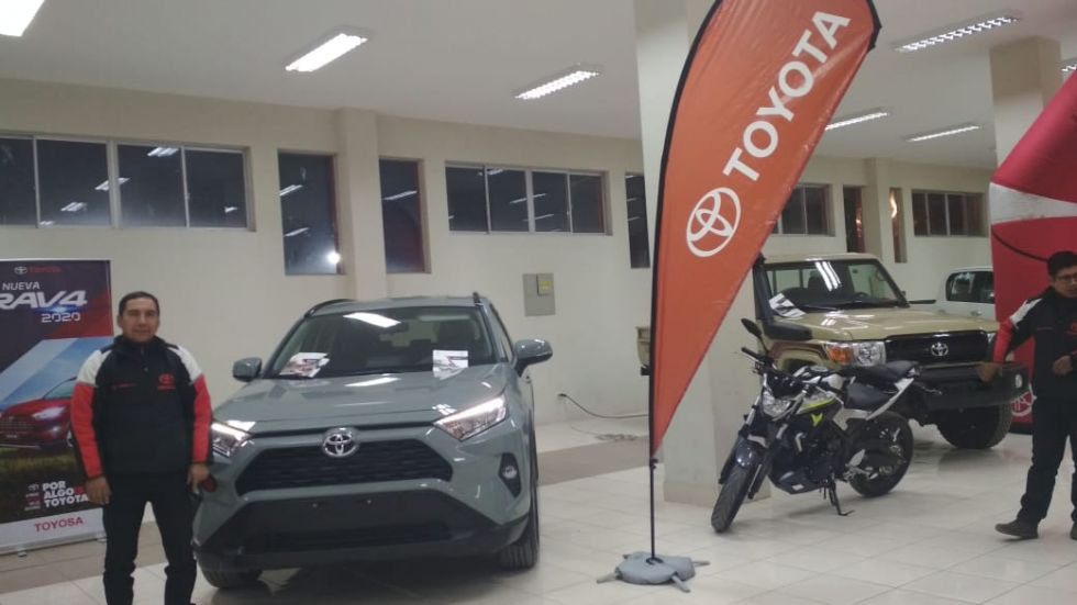 Toyota tiene descuentos en sus vehículos 2020.