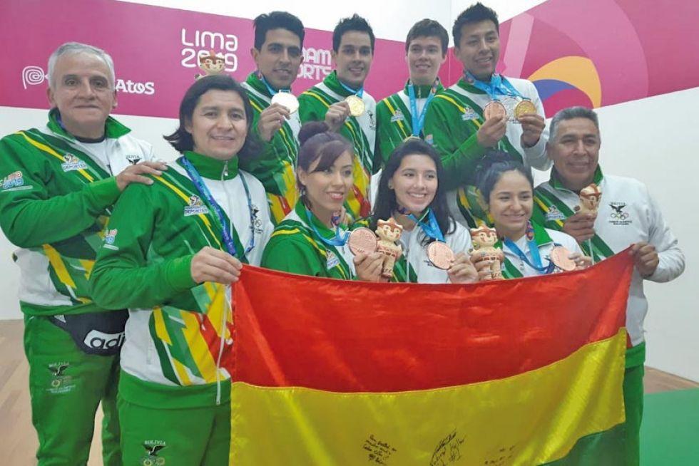 El ráquet le da a Bolivia su primera medalla de oro