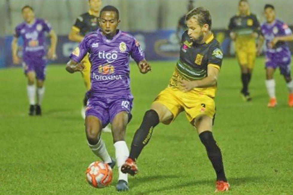 Los equipos de Potosí empatan en la primera división: fútbol