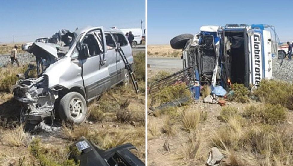 Otro accidente de tránsito cobra vidas, esta vez de 11 personas