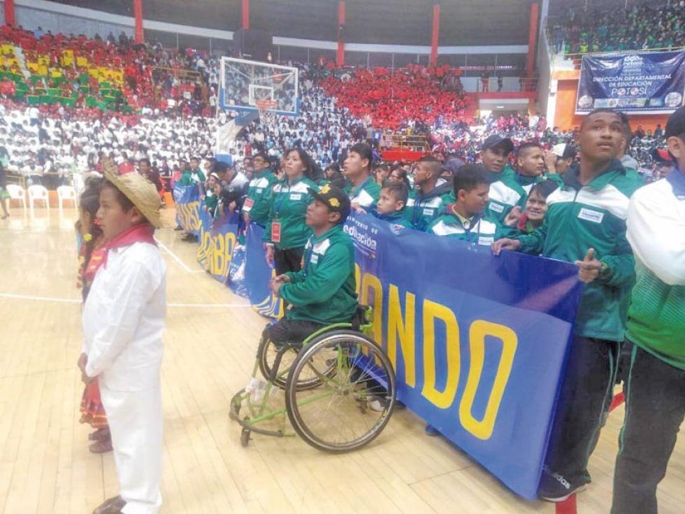 Compiten atletas de los nueve departamentos.