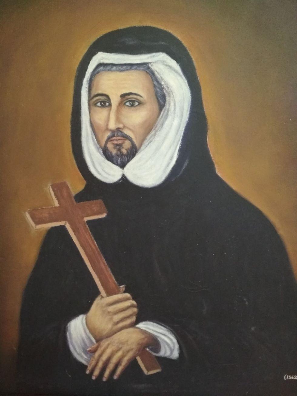 Copia del retrato pintado por Alonso de Arandia.