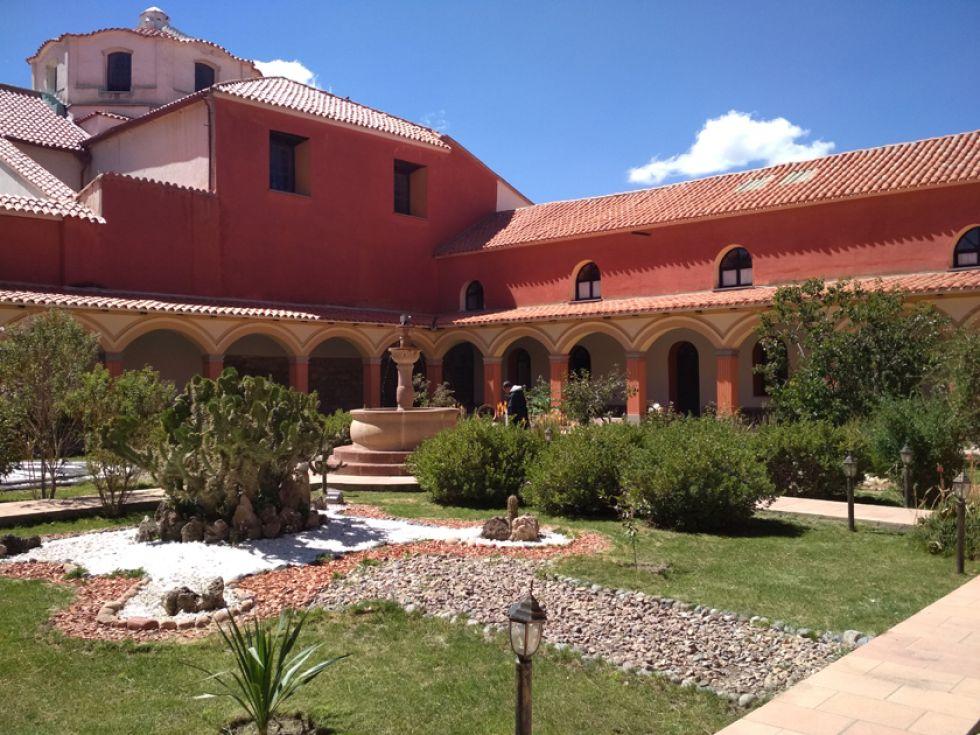 Interior del convento de Santo Domingo, donde vivió fray Vicente.