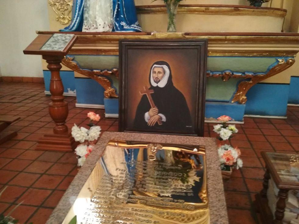 La tumba del dominico conocido como