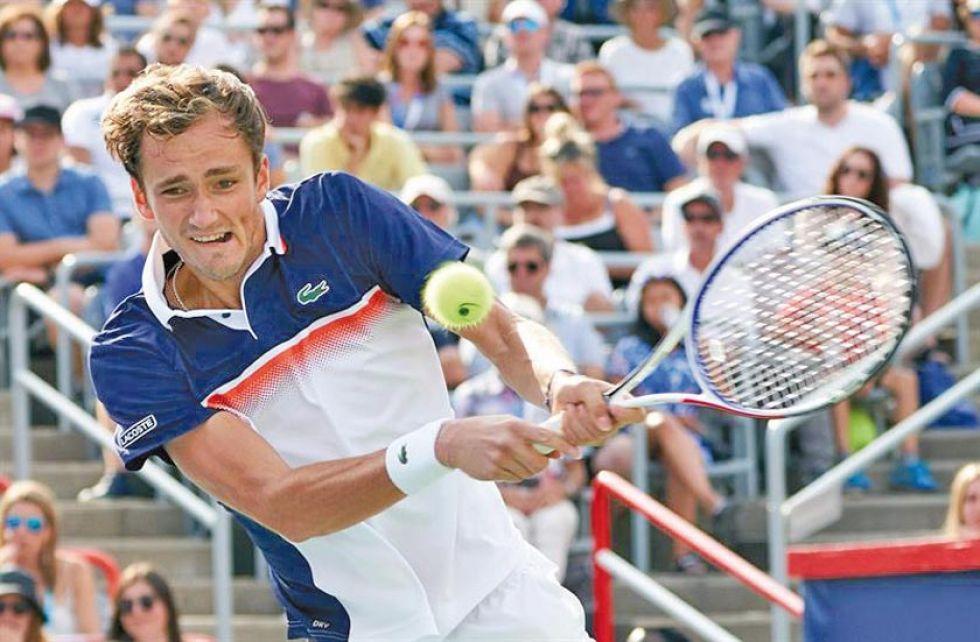 Medvedev jugará la final contra Goffin