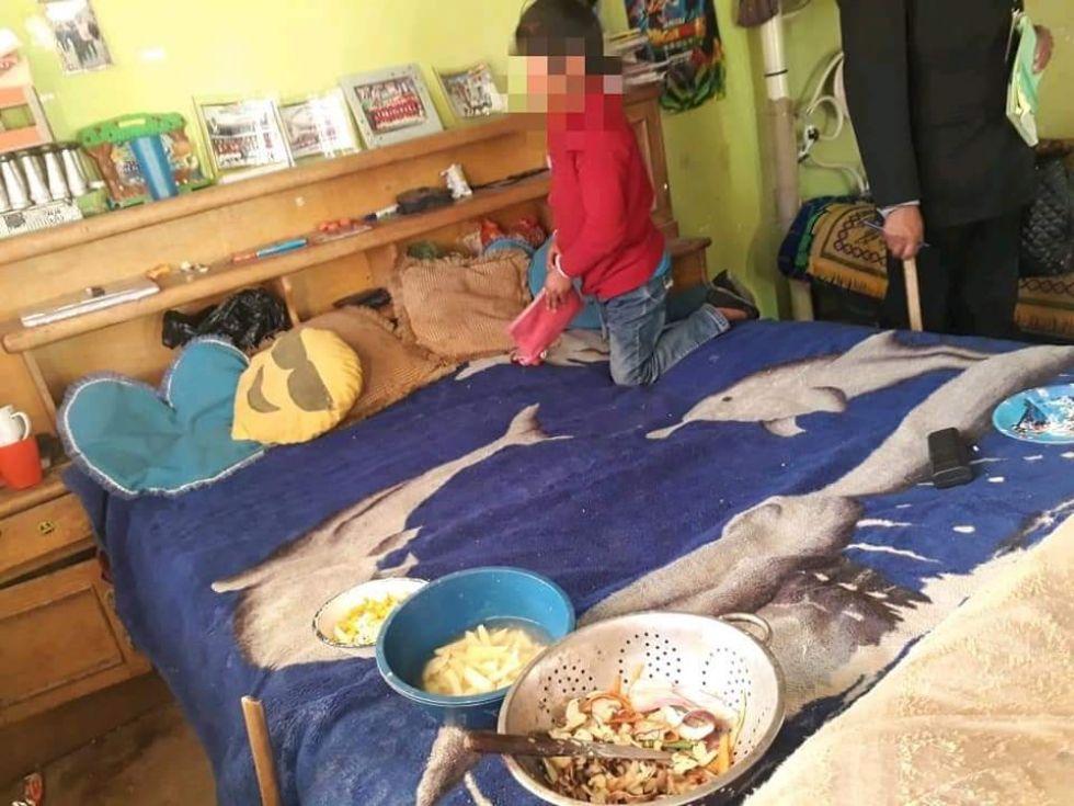 Rescatan a cinco menores supuestamente abandonados