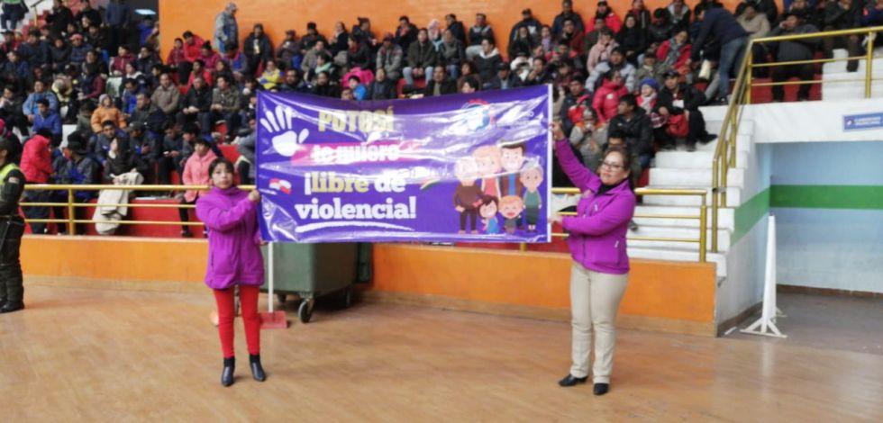 Campaña de prevención contra la violencia