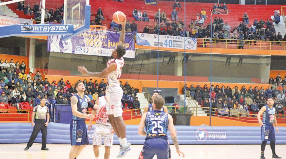 Nacional gana y da otro paso  a la final de la Libobásquet