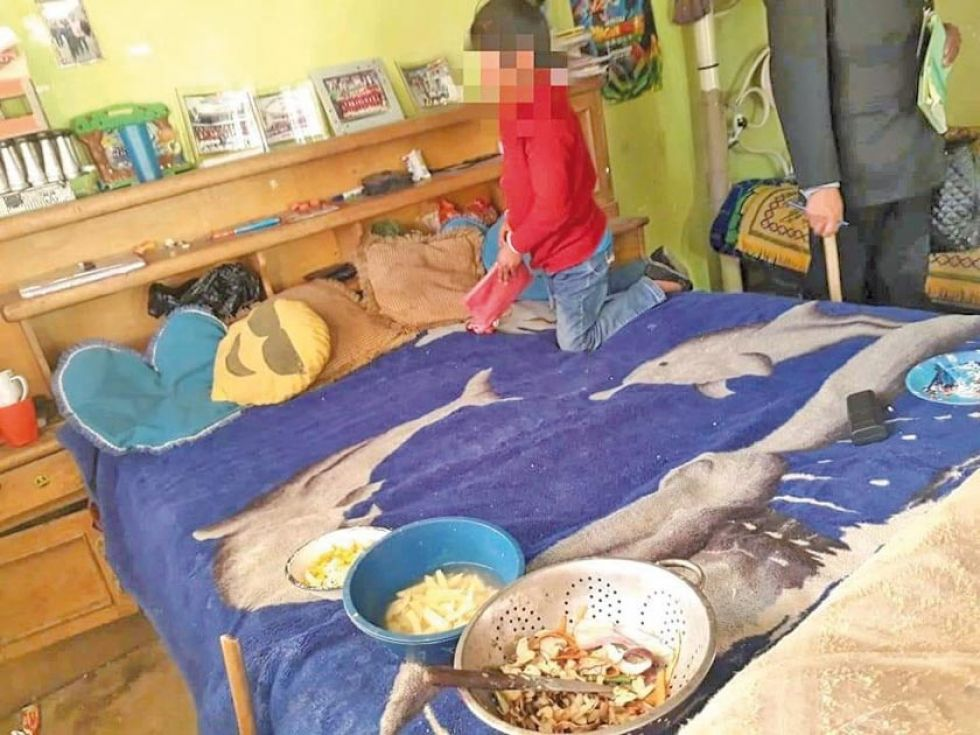 Defensorías rescata a cinco menores abandonados
