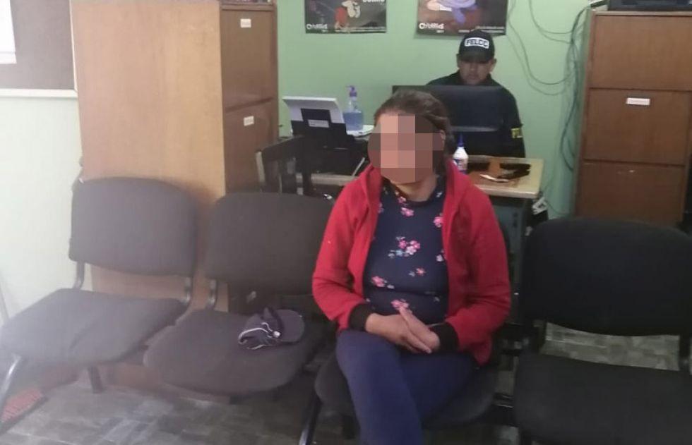 Envían a Cantumarca a la mujer que regaló a  su hija de nueve años