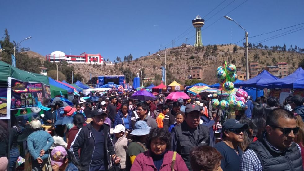La cantidad de gente que acudió a la avenida Tinkuy.