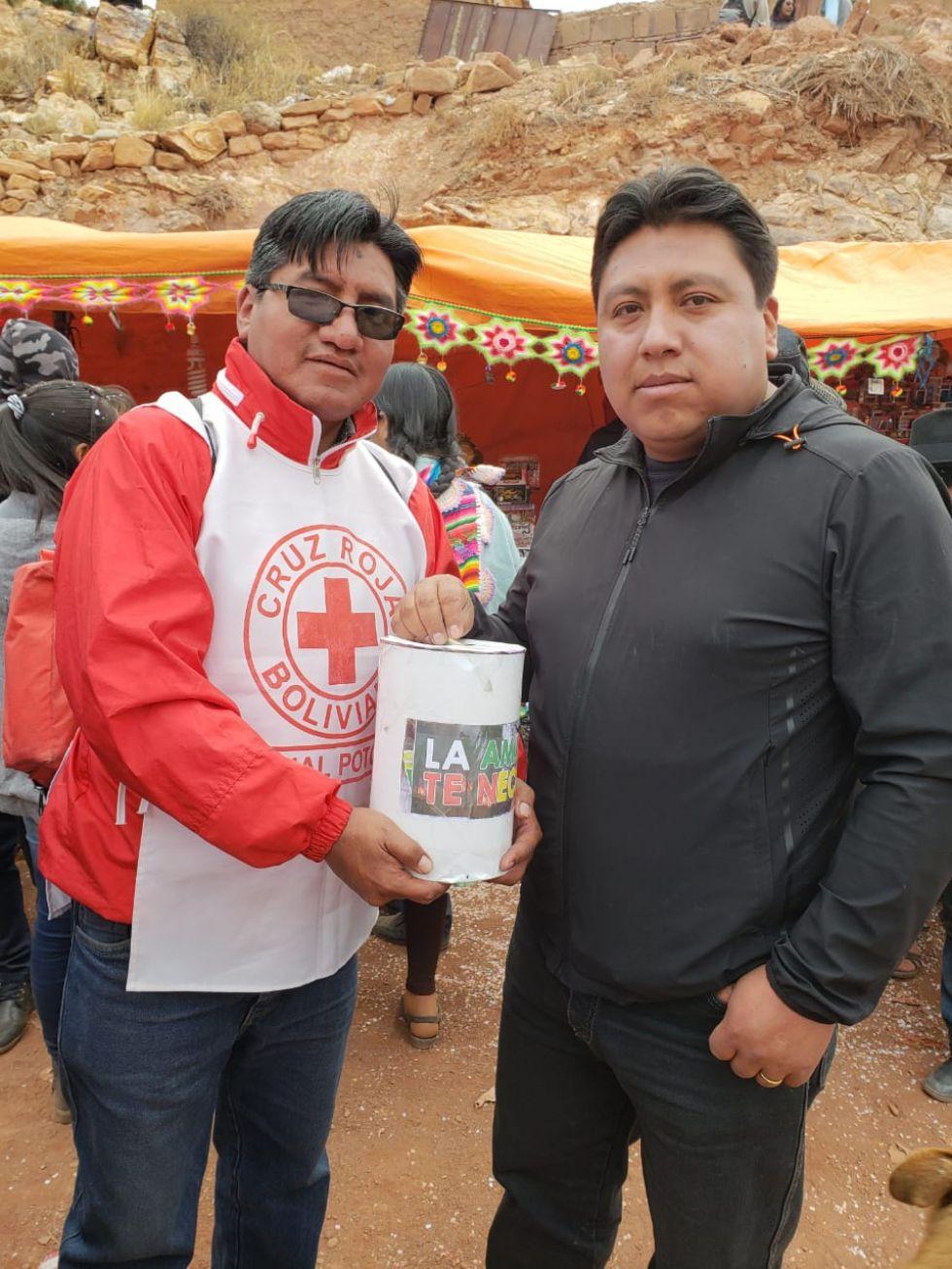 Recolectan ayuda para la Chiquitanía.
