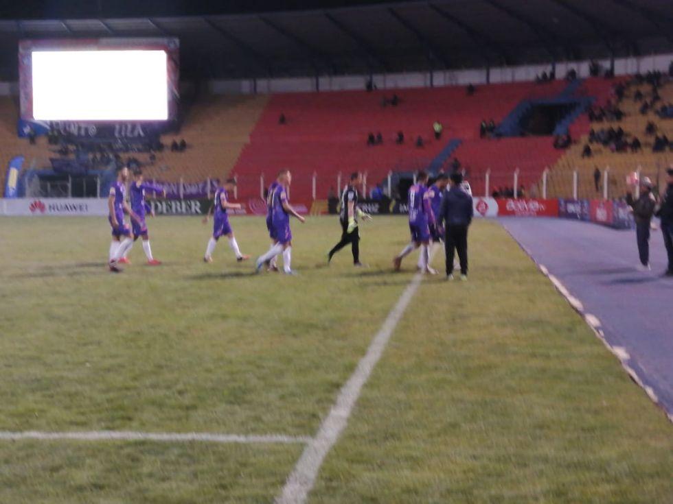 Acabó el primer tiempo con empate 1 a 1 entre Real y Aurora.
