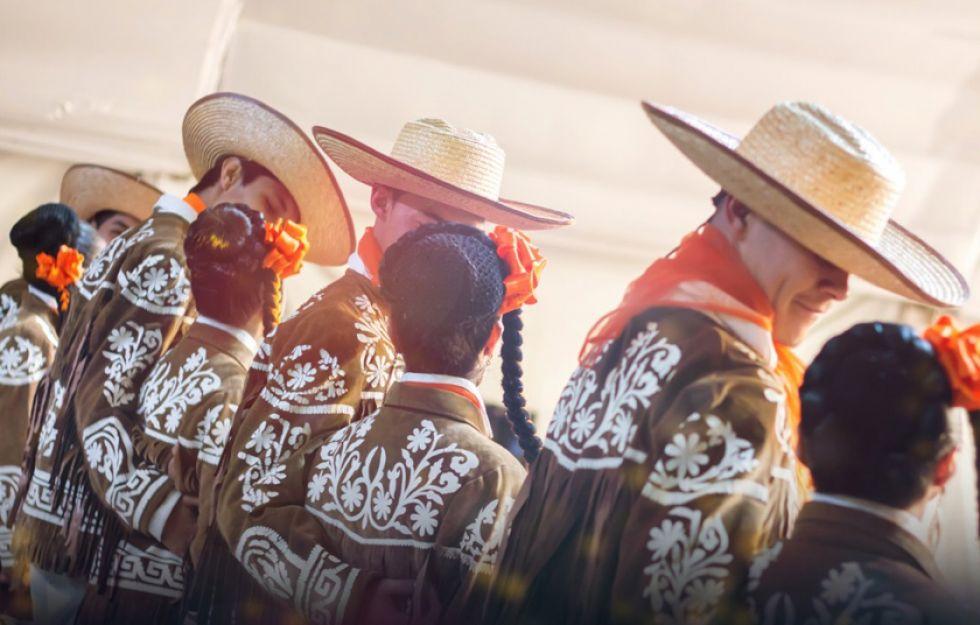 "Compañía Infantil y Juvenil de Danza Folklórica ""Atizapan de Zaragoza"", de México."