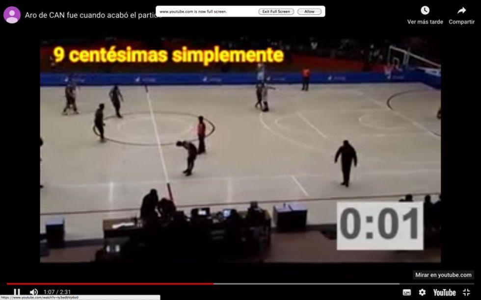 Video invalida versión de CAN