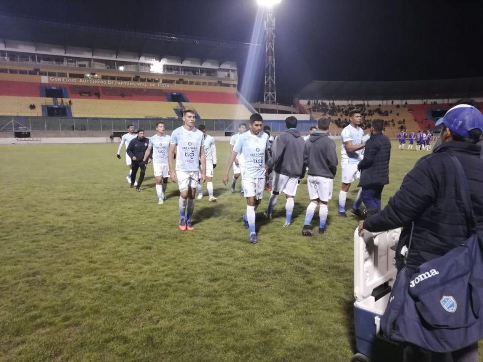 Acabó el primer tiempo con empate 1 a 1 entre Real y Aurora