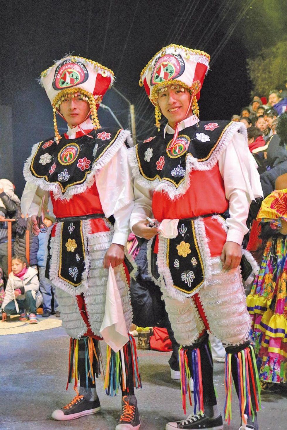 Dos peruanos.