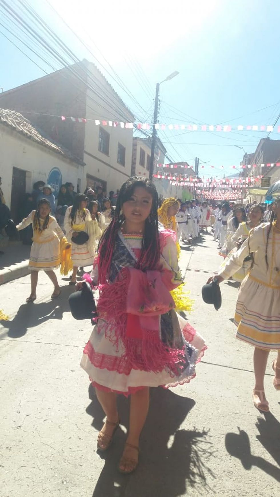 La predilecta de la saya afro boliviana.