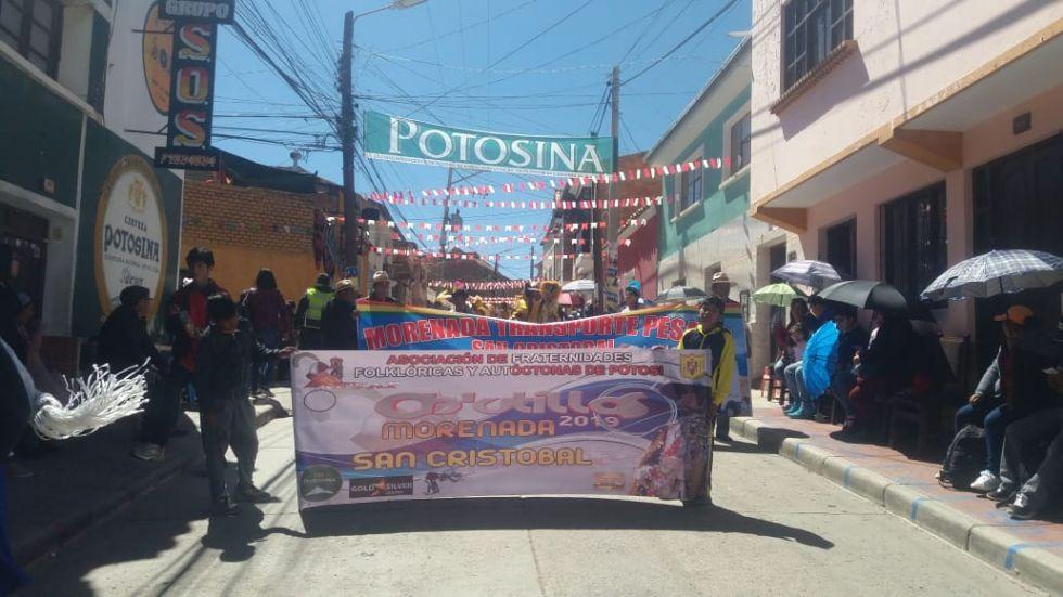 Parte Morenada San Cristóbal.