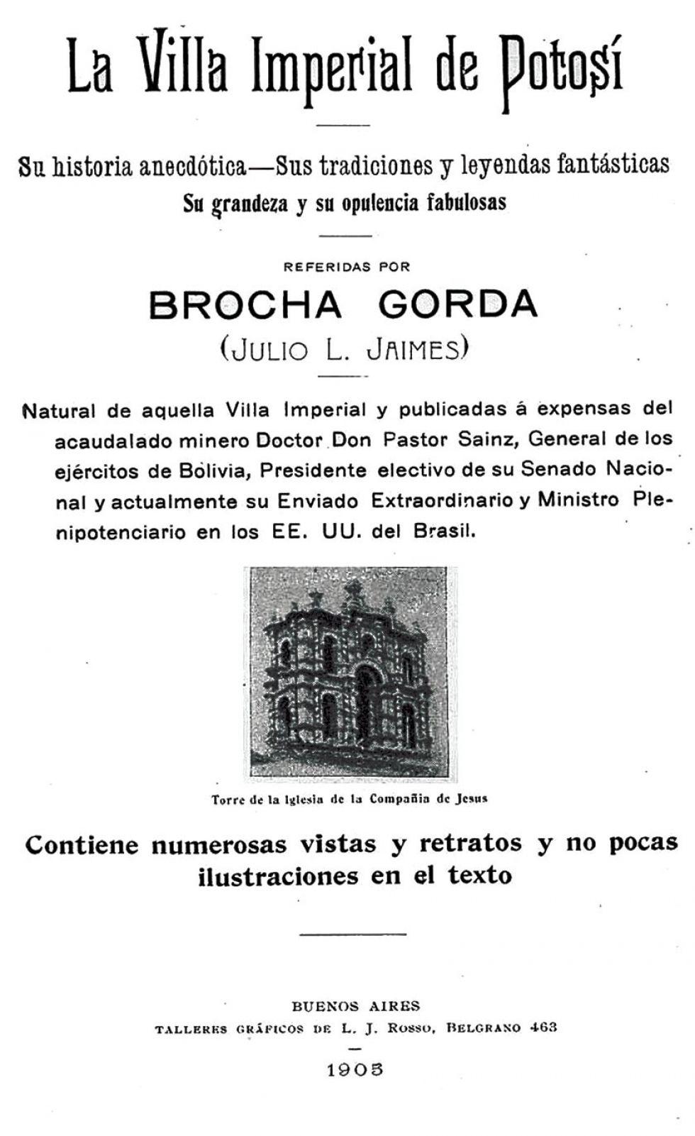 Libro de Lucas Jaimes en el que aparece la foto de los Ch'utillos.