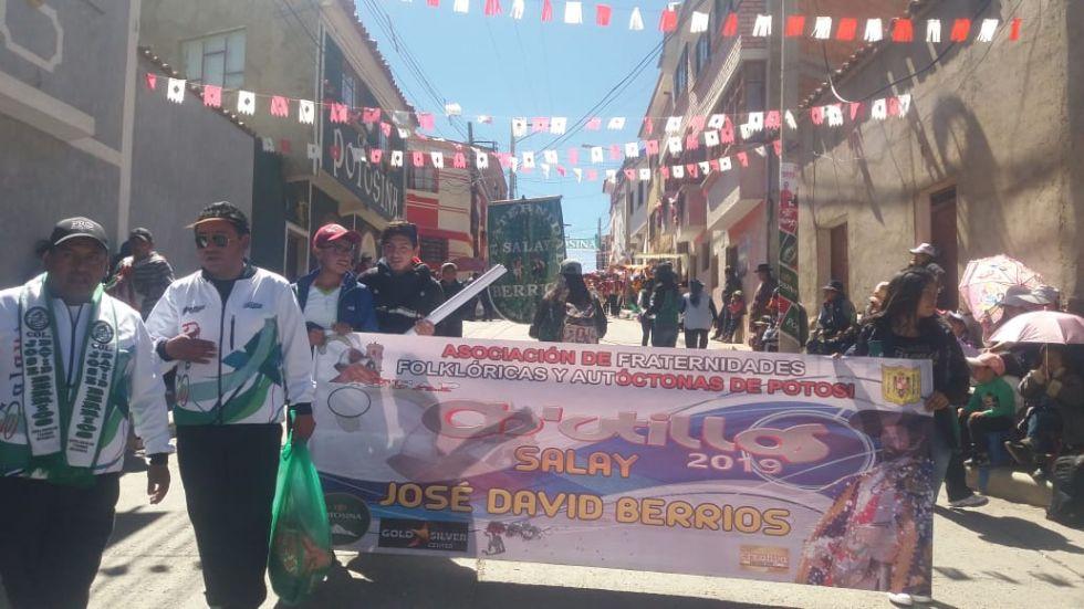 Salay Berrios parte con 162 integrantes