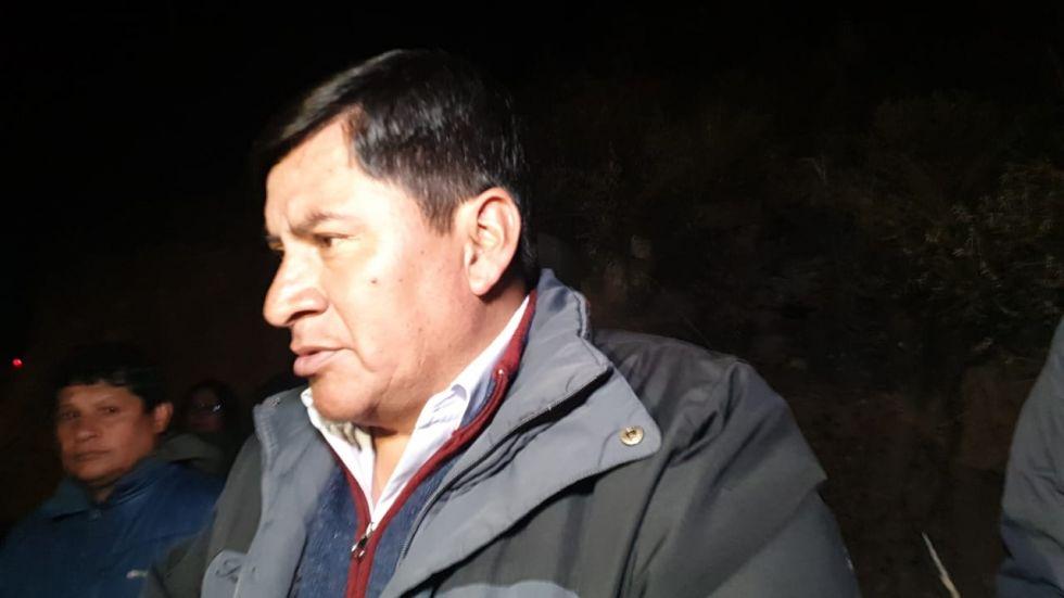 El gobernador, Juan Carlos Cejas.
