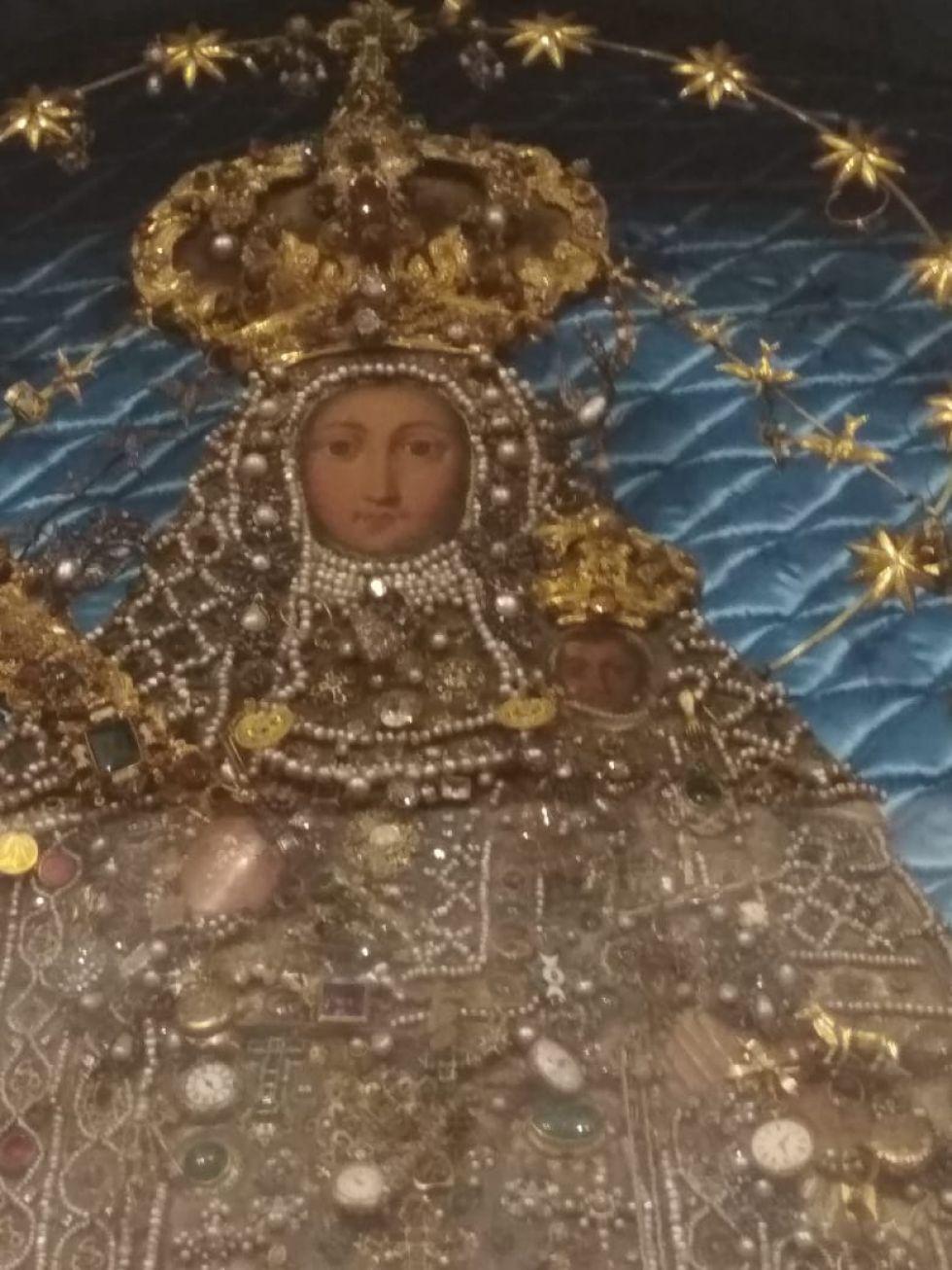 La Virgen de Guadalupe de Sucre.