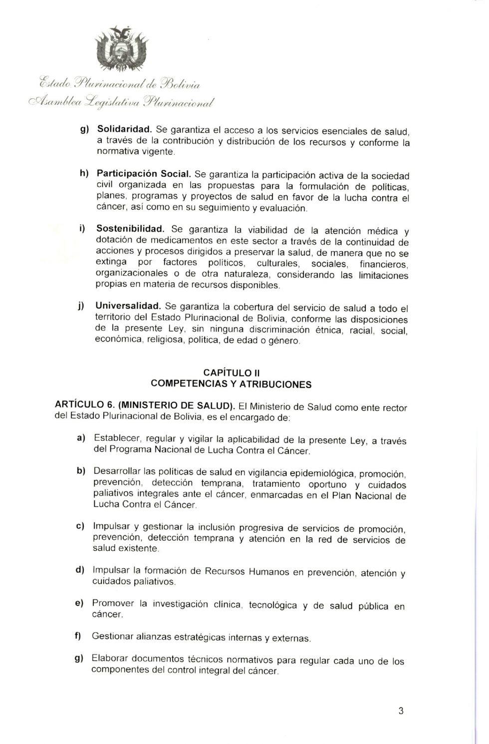 El Ministerio de Salud publicó la norma.