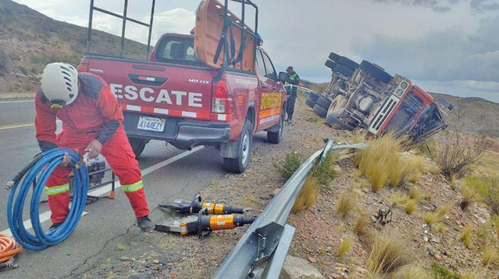 Accidentes de tránsito dejan dos personas muertas