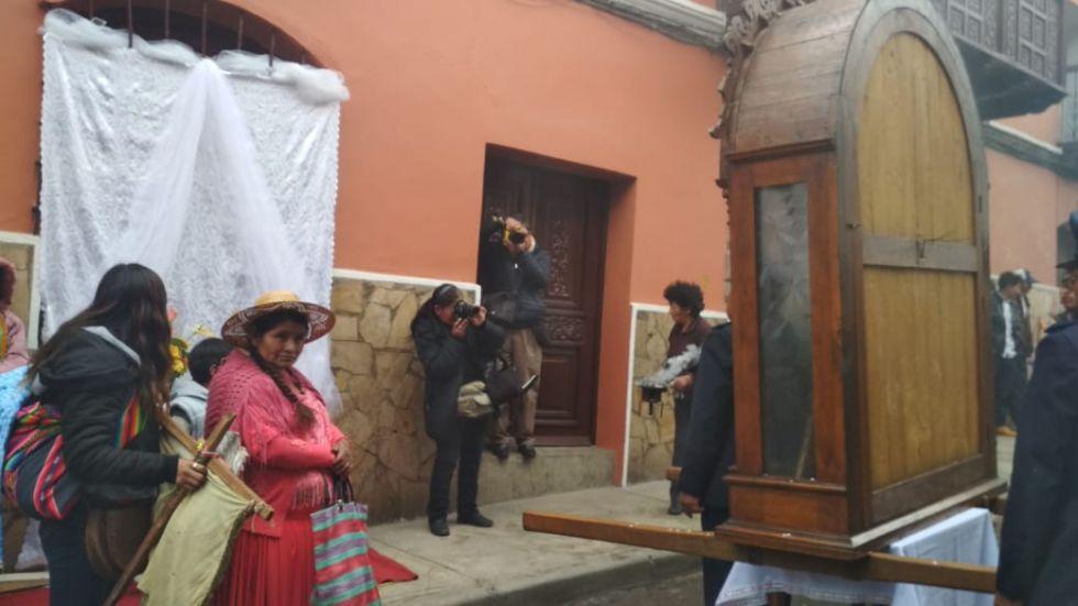 Altar de la familia Moreno Nogales