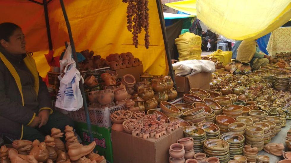 Feria de Alasita para la Virgen de Guadalupe