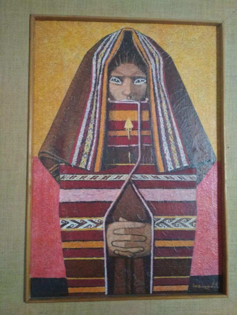 """""""Puca Chipaya"""" de Alfredo Loayza Ossio."""