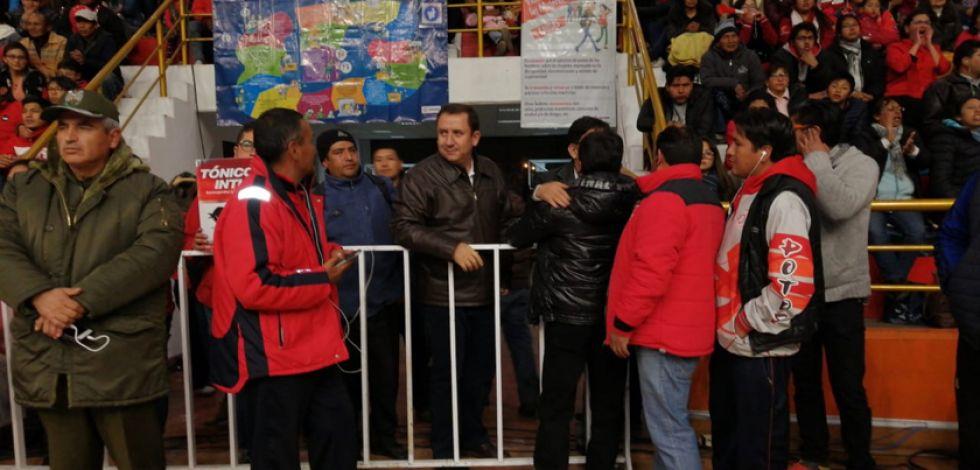 Presidente de la FBB Marco Arze destaca el apoyo de los potosinos al básquetbol