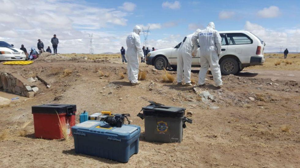 Oruro: asesinan a tiros a un hombre delante su familia