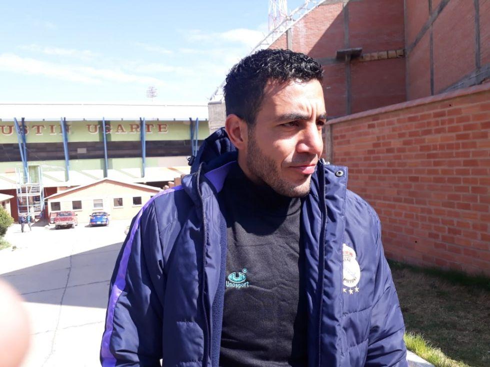 El jugador Juan Leandro Vogliotti