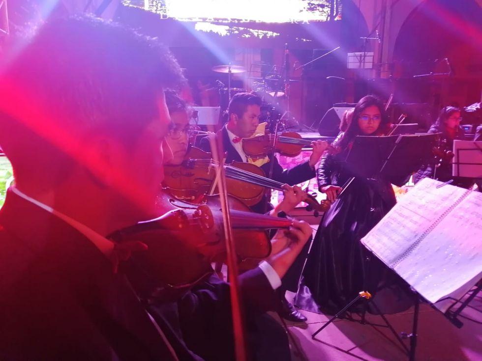 Orquesta Sinfónica Municipal.