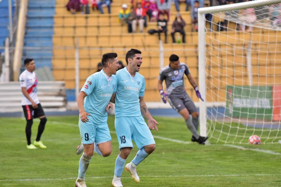 Bolívar golea al Nacional Potosí y sube a la cima del campeonato