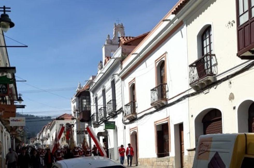 La banda del Pichincha en Sucre.