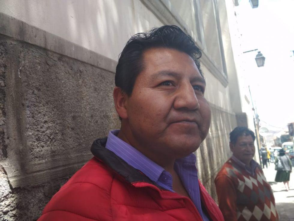 El abogado Franklin Flores