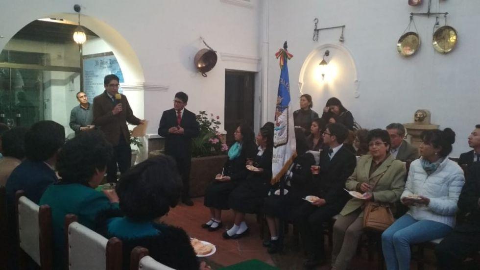 El acto se desarrolló en el inmueble de calle Nogales.