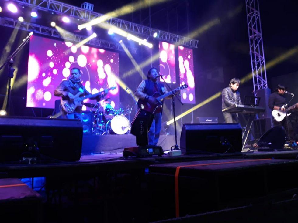 Generación Rock abre el espectáculo.